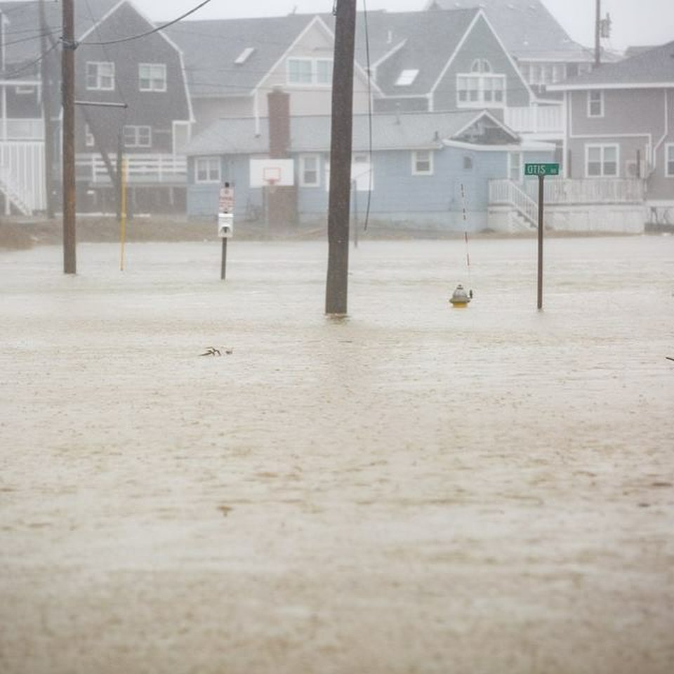 A deadly storm hammered the Northeast with relentless rain, snow and powerful winds. Seen here is flooding in Scituate, Massachusetts.