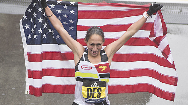 Desiree Linden wins Boston Marathon, 1st USA woman since '85