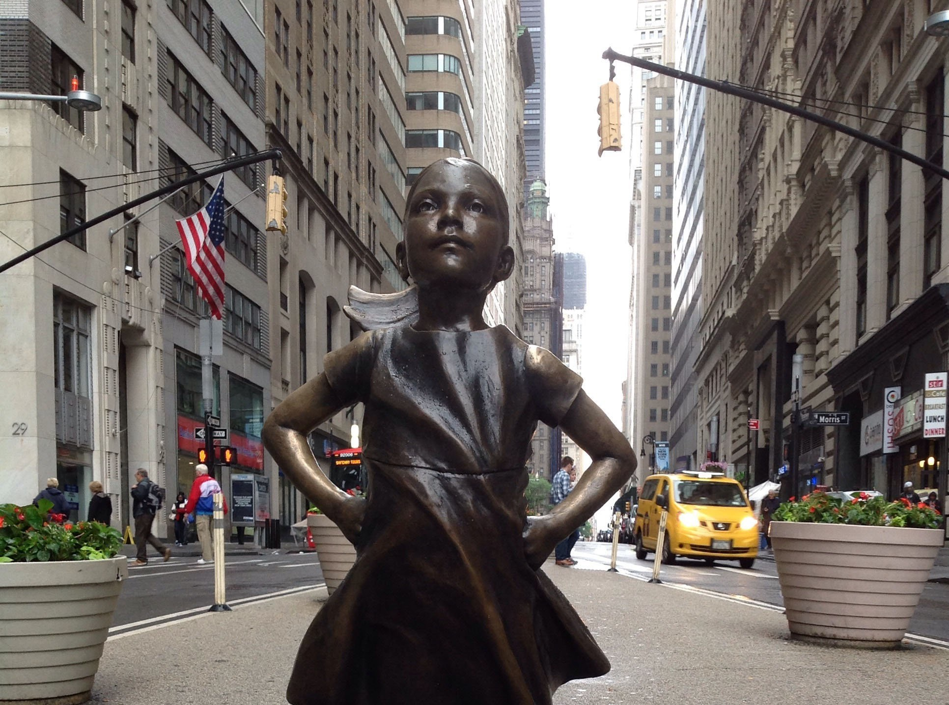 NYC's 'Fearless Girl' Statue Will Stay Up For Another Year