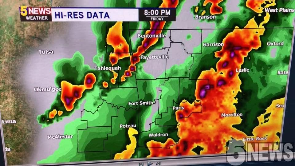 Officials warn of severe thunderstorms Sunday night