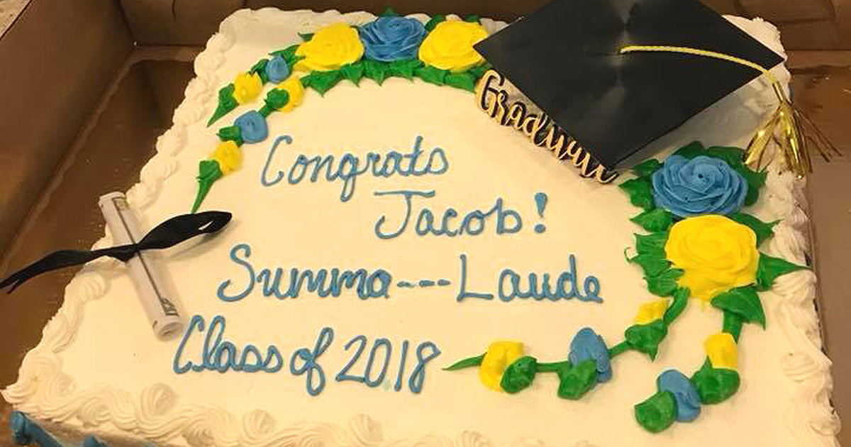 Mom Miffed At \'Summa — Laude\' On Graduation Cake   Fort Smith ...