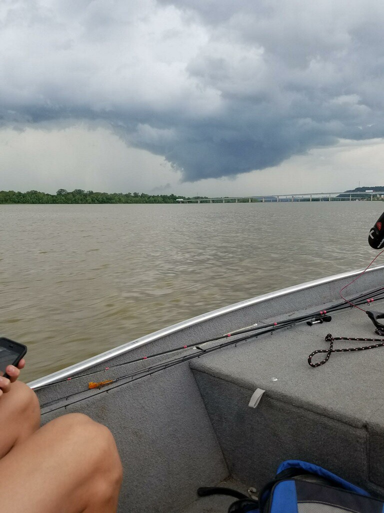 On the Arkansas River near Fort Smith, AR (Pic Credit:  Bill Hollenbeck)