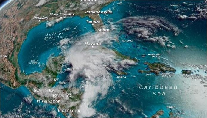 Subtropical Storm Alberto Heads Toward Gulf Coast