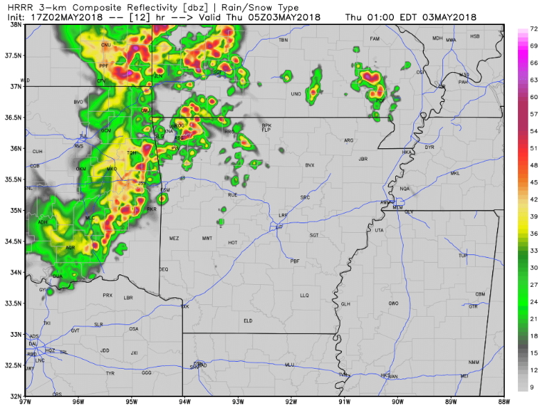 Storms Expected Overnight Fort Smith Fayetteville News