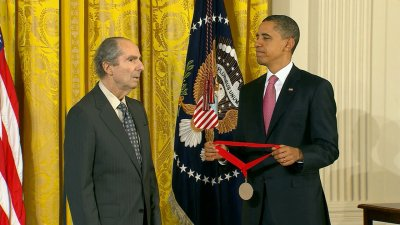 Pulitzer Prize Winning Author Philip Roth Pictured Here With President Barack Obama Has Passed Away At The Age Of 85 This Picture Was Taken In March 2011