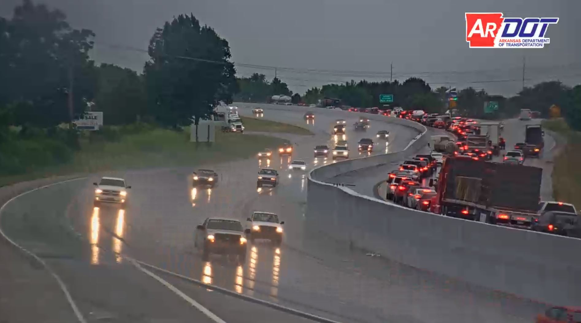 Image courtesy of iDriveArkansas.com and the Arkansas Department of Transportation.