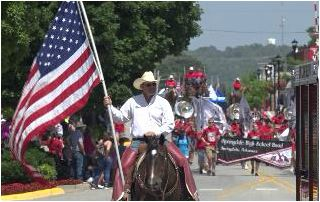 Parade And Rodeo Of The Ozarks Held In Springdale
