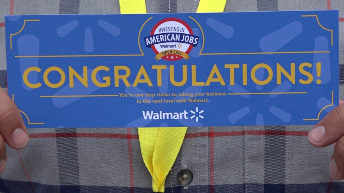Businesses Hoping To Hit Walmart Shelves Pitch Products At