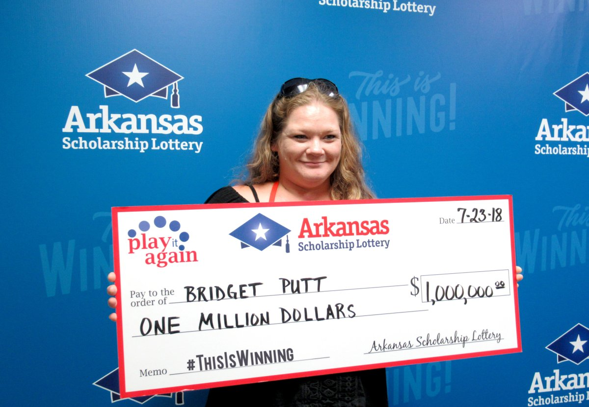 Cabot Woman Wins $1 Million In Second-Chance Lottery Drawing