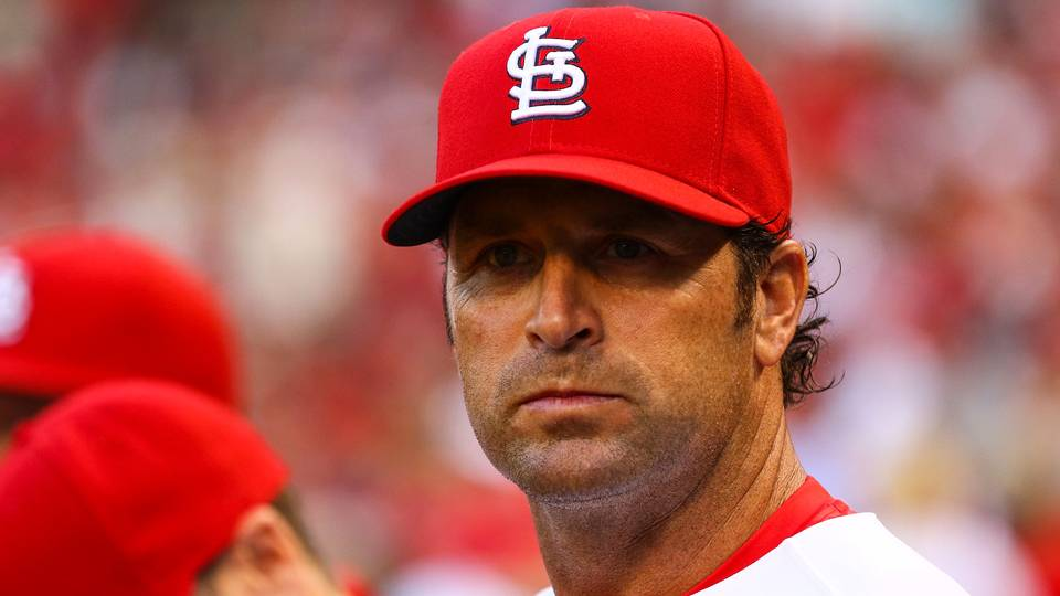 Louis stunner: Cards fire Matheny with club near .500