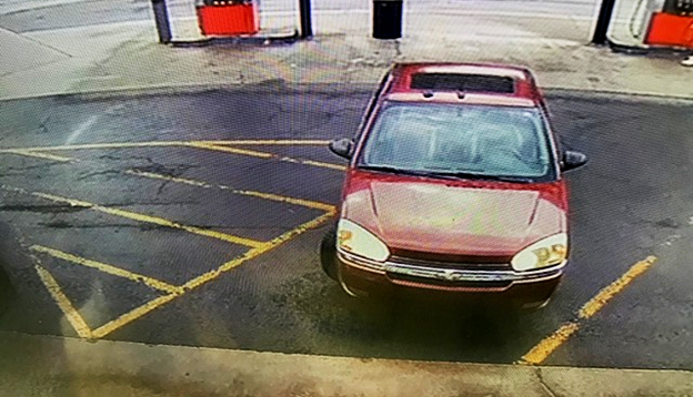 The stolen vehicle is a 2005 Chevrolet Malibu.