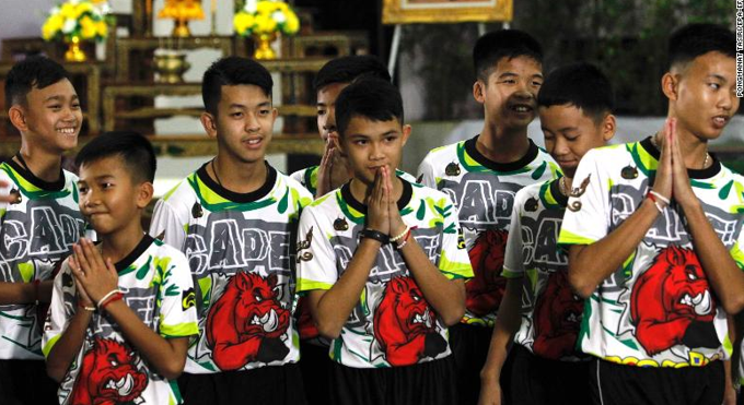 Thailand Cave Rescue: Boys Recount Moment They Became ...