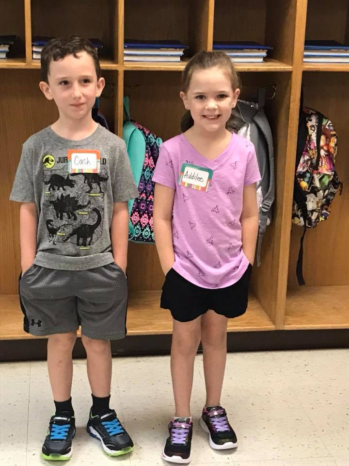Cash & Addilee Moffett Elementary