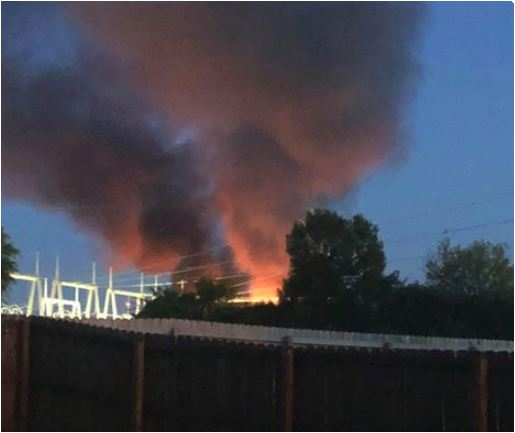 Highway 271 Reopens Monday Morning After Massive Fire