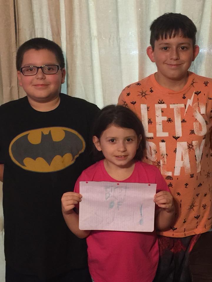 Hunter,Jonah,Sarah Panama and Spiro Schools