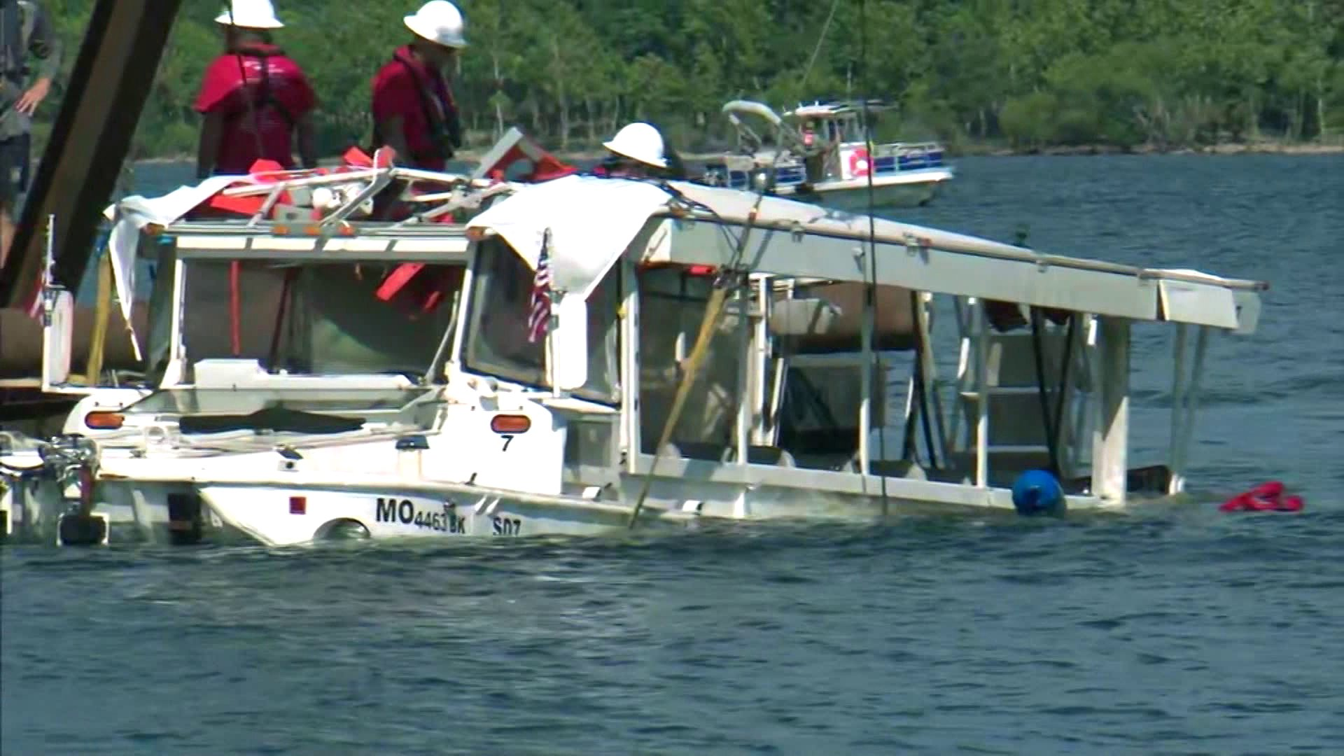 Company Says It Was Told Duck Boats Were OK Before Sinking thumbnail