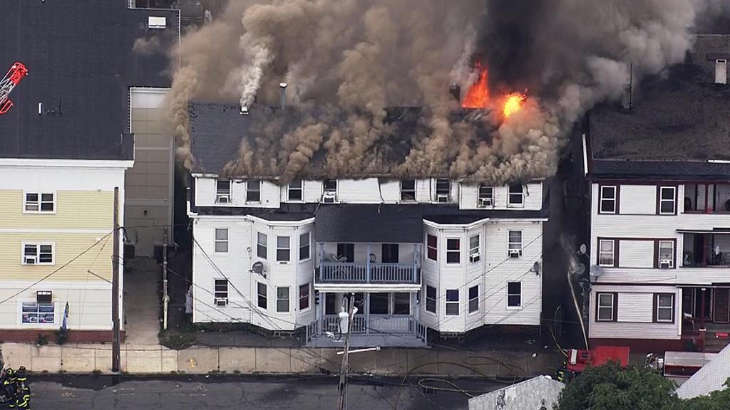 It looked like Armageddon:' Gas Explosions Destroy Homes InBoston   WBZ  Boston