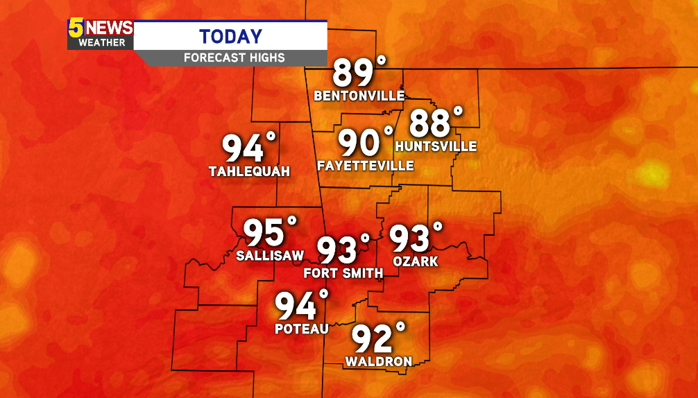 WATCH: Late Summer Heat Continues This Week