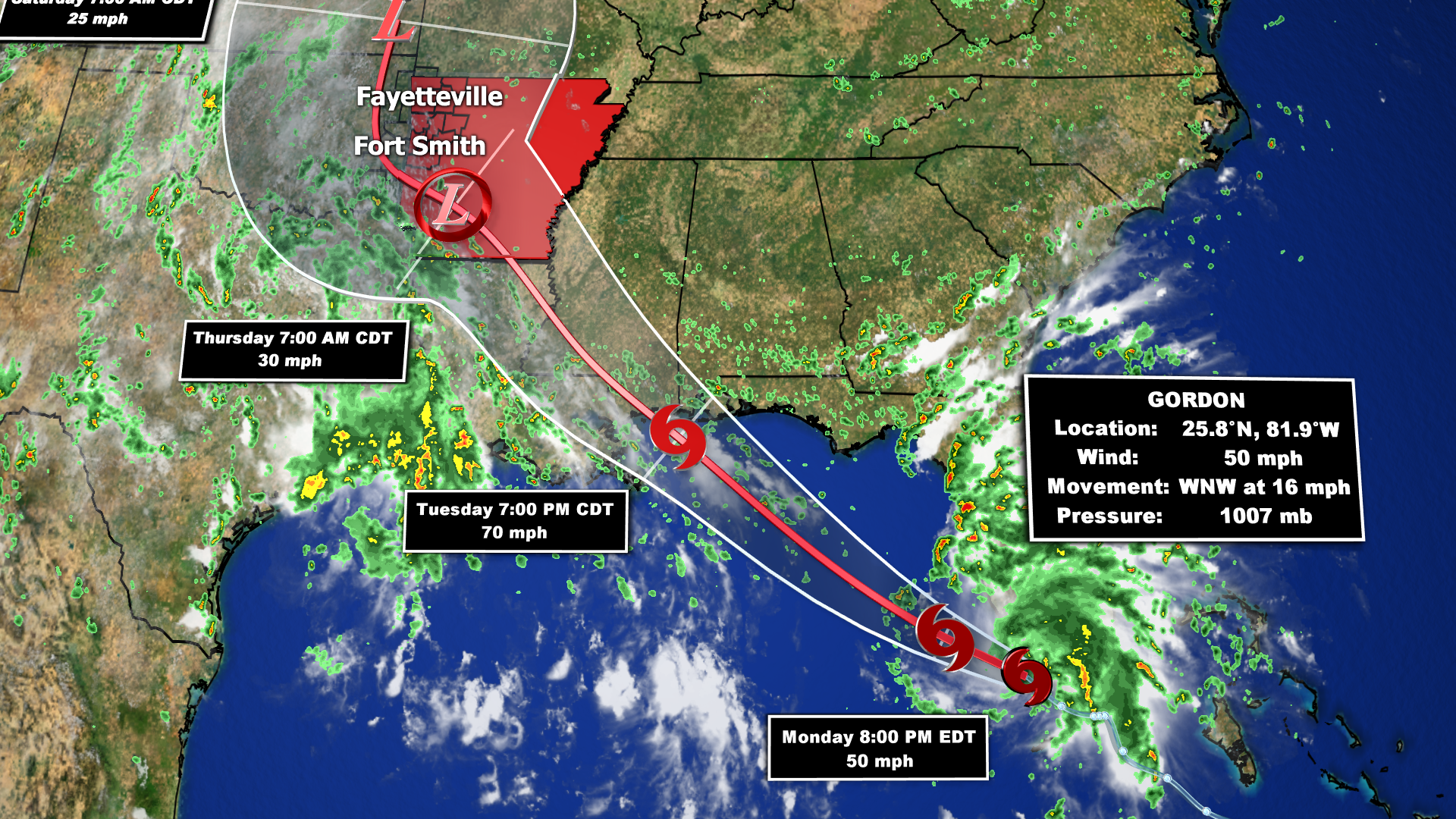Gulf Coast prepares for Gordon's expected arrival as hurricane