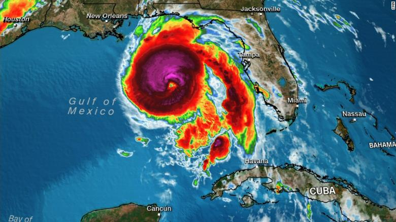 Hurricane Michael Is 'Extremely Dangerous' Category 4 Storm Hours BeforeLandfall