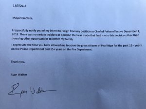 Pea Ridge Police Chief Resigning In December Fort Smith