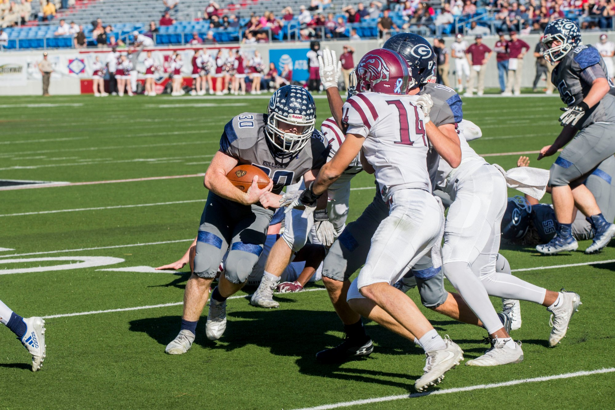 Greenwood v Benton 1st half photos