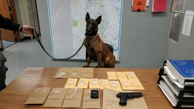 K9 Draco Assists Lowell Police In Drug Bust | Fort Smith
