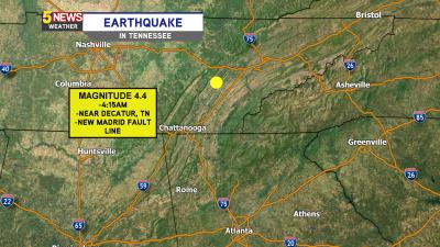 Earthquake Along New Madrid Fault Rattles Georgia, Tennessee ...
