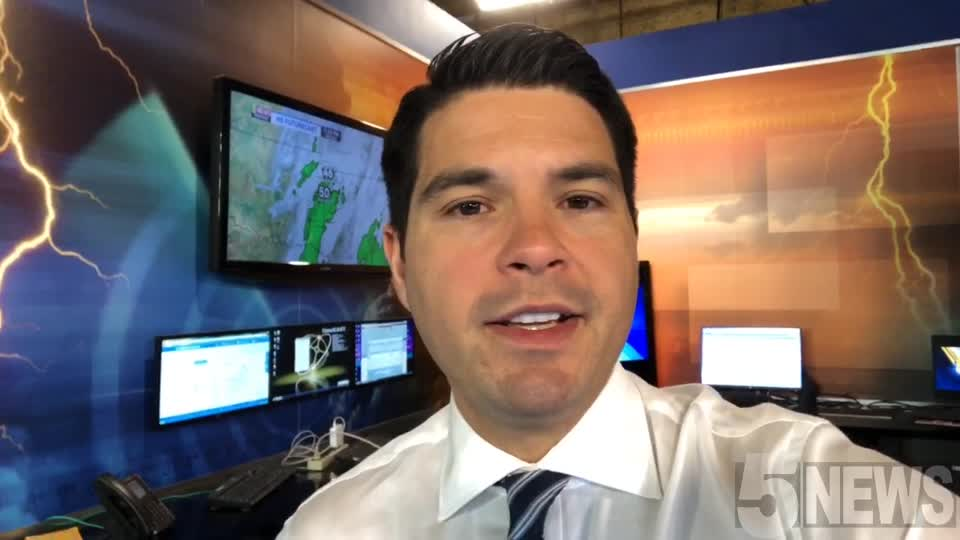WATCH: Nice Today, Rain Showers Wednesday
