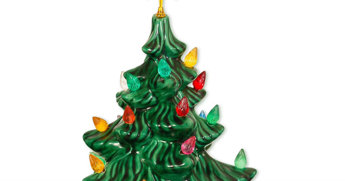 Ho, Ho, Whoa! Some Ceramic Christmas Trees Selling For A Lot Of Green