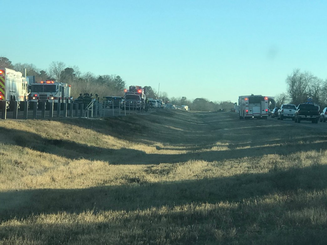 Traffic Moving Slowly After Multi-Vehicle Accident On I-540