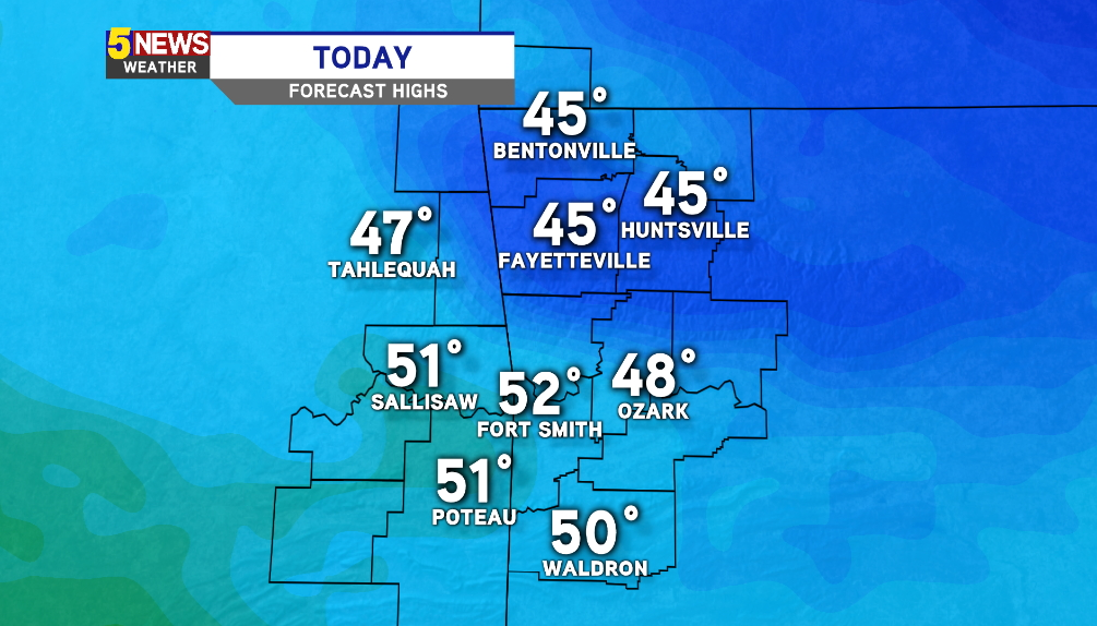 WATCH: Cold Morning, Rain Likely Tuesday