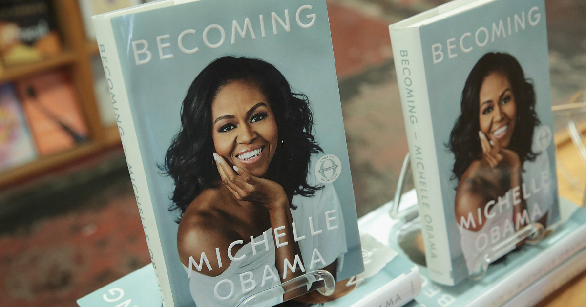 Michelle Obama's 'Becoming' Has The Longest Run Atop Amazon Since 'Fifty Shades'
