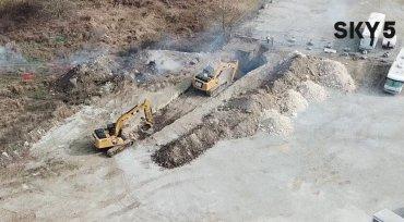 Trench Around Bella Vista Stump Dump Fire Saves $7.5M