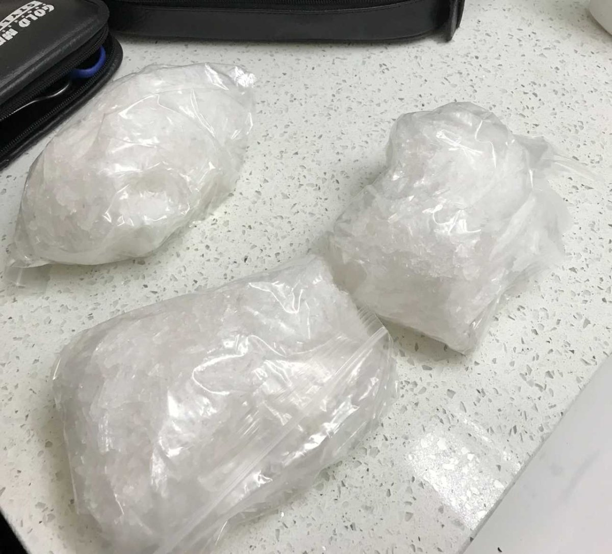 Police Find 2 Pounds Of Meth And Semi Automatic Weapons In