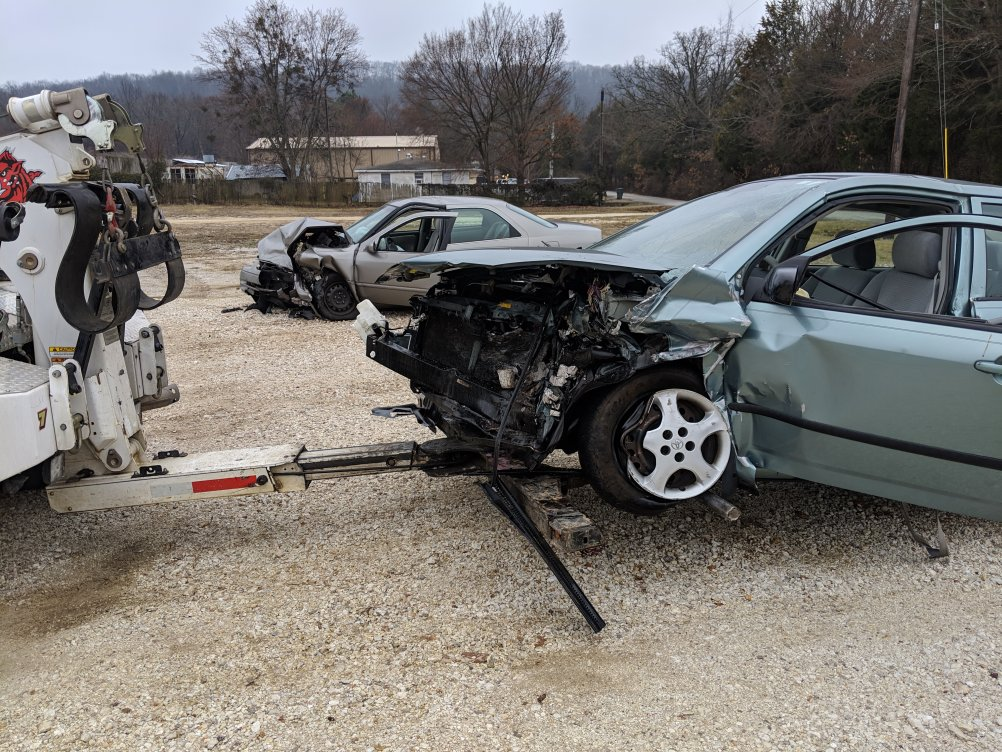 One Person Extricated From Vehicle After Wreck In Fayetteville