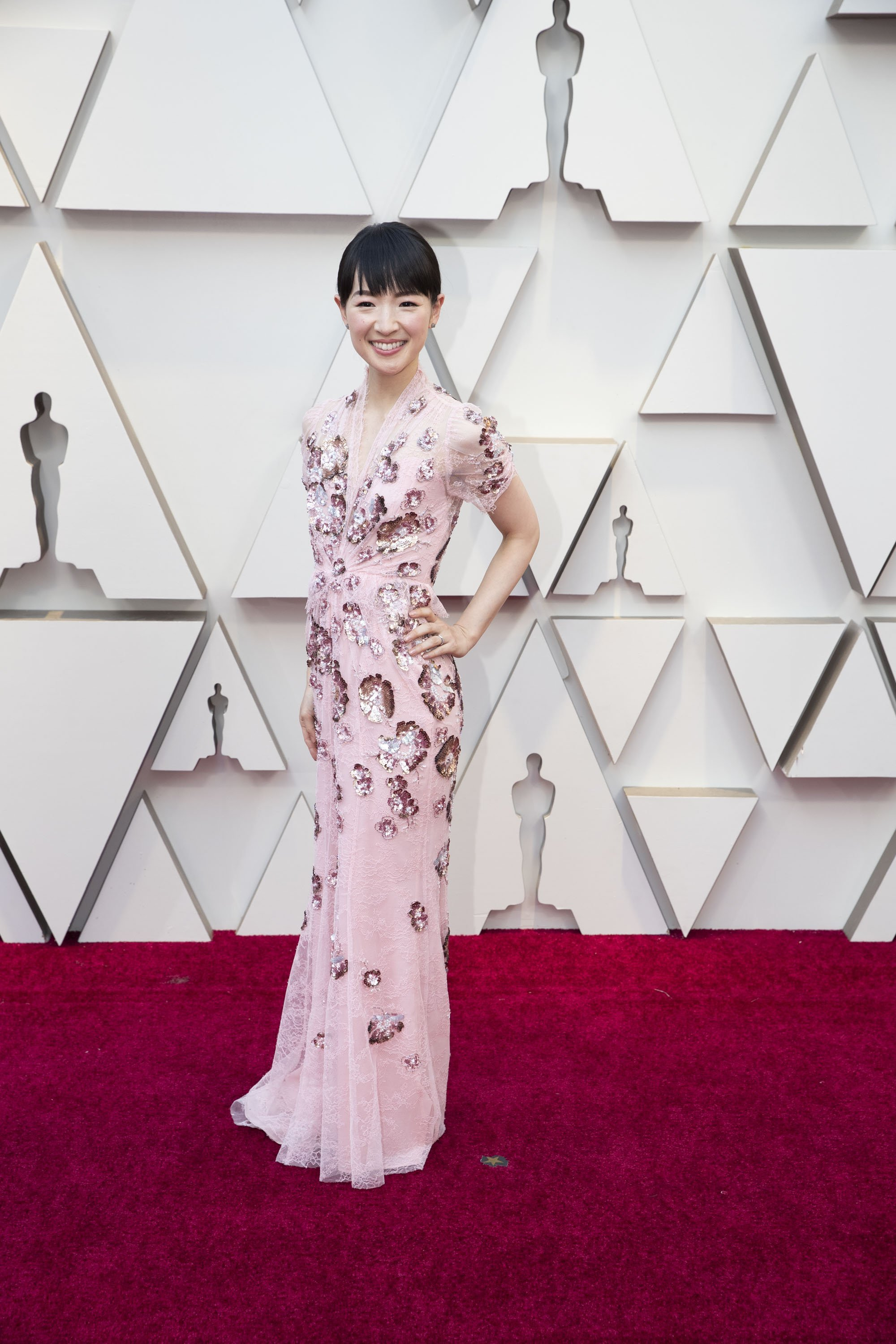 Marie Kondo: Red Carpet from the The 91st Oscar broadcast on Sunday, Feb. 24, 2019, at the Dolby Theatre.