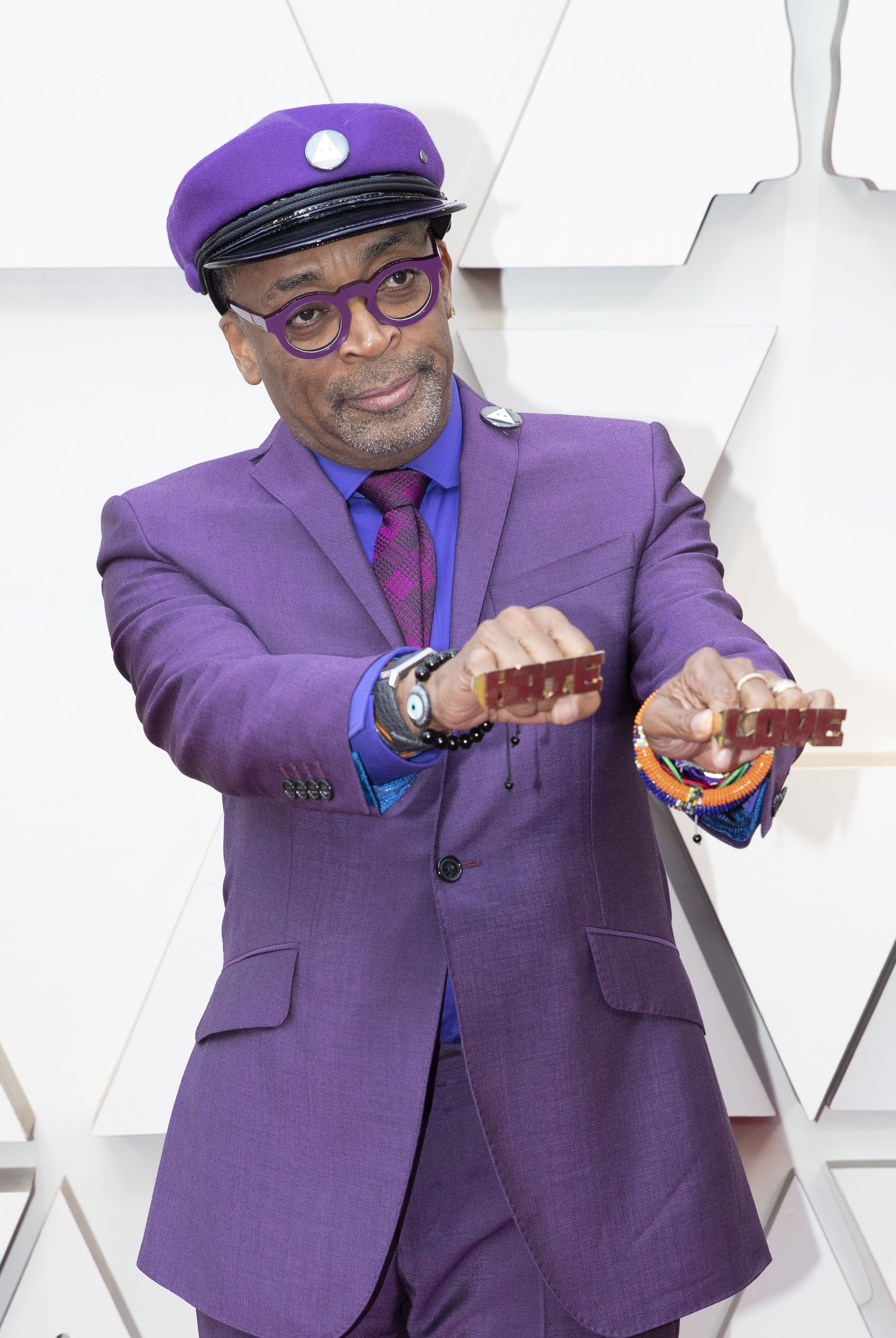 Spike Lee: Red Carpet from the The 91st Oscar broadcast on Sunday, Feb. 24, 2019, at the Dolby Theatre.