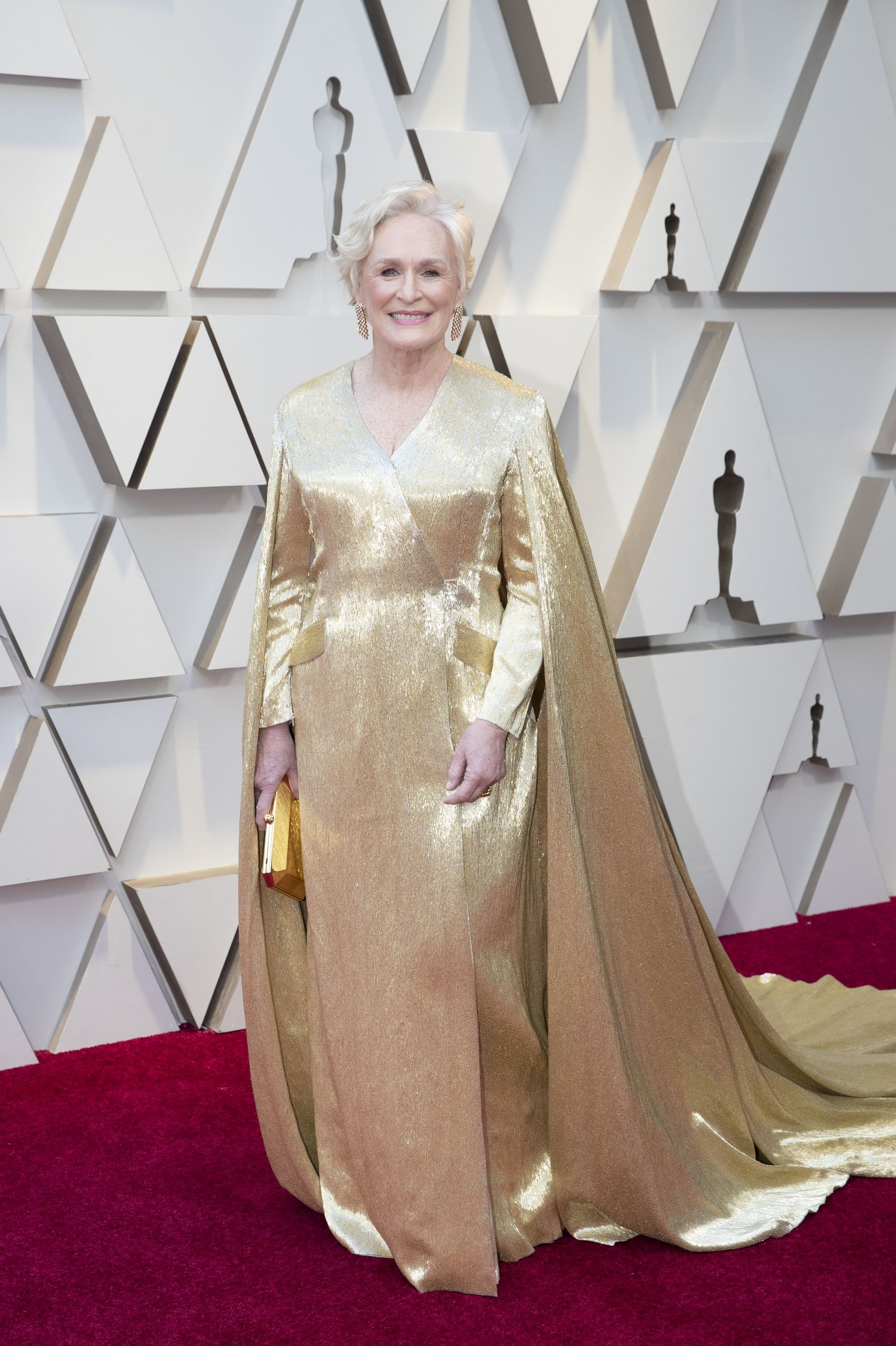 Glenn Close: Red Carpet from the The 91st Oscar broadcast on Sunday, Feb. 24, 2019, at the Dolby Theatre.