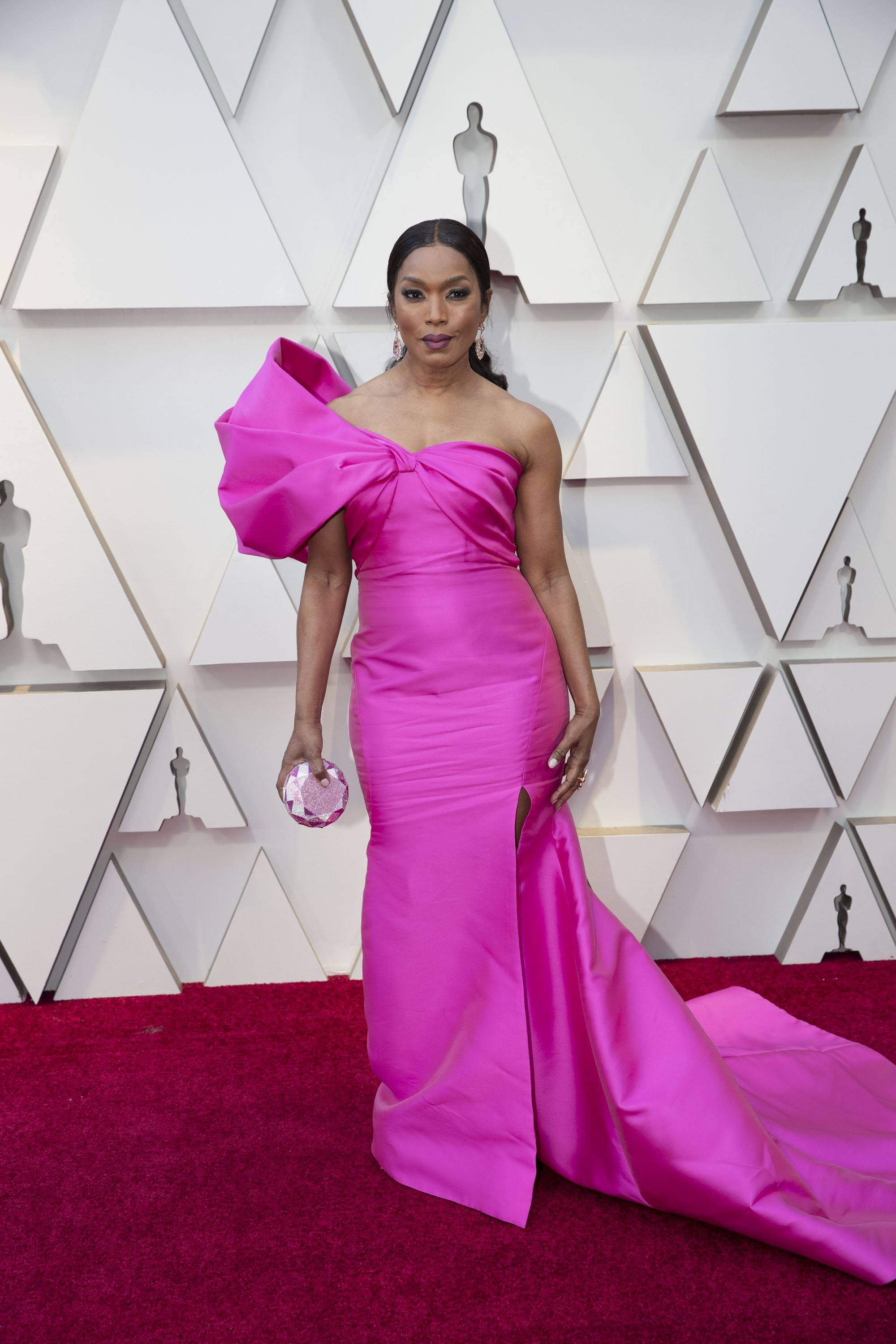 Angela Bassett: Red Carpet from the The 91st Oscar broadcast on Sunday, Feb. 24, 2019, at the Dolby Theatre.