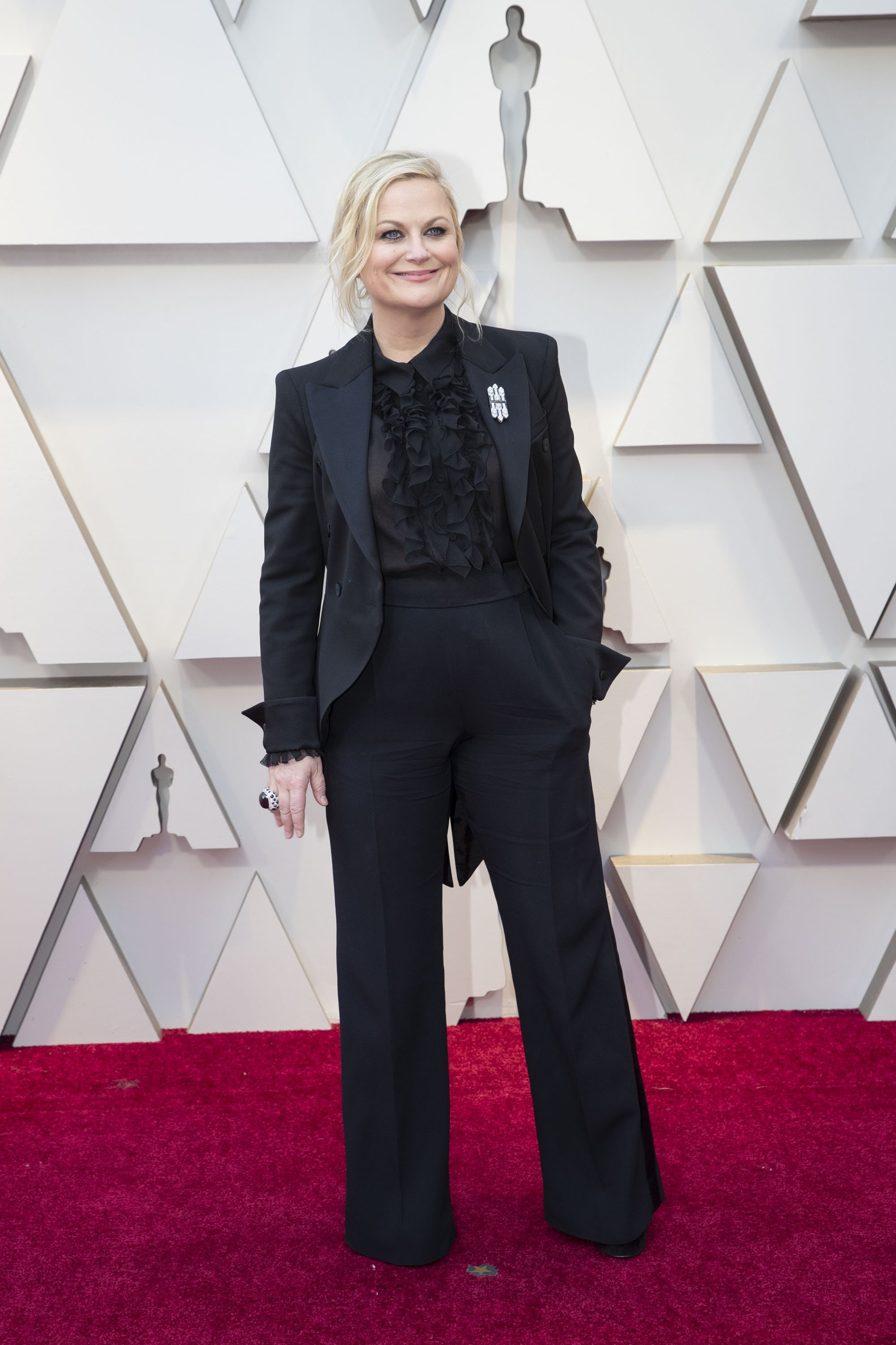 Amy Poehler: Red Carpet from the The 91st Oscar broadcast on Sunday, Feb. 24, 2019, at the Dolby Theatre.