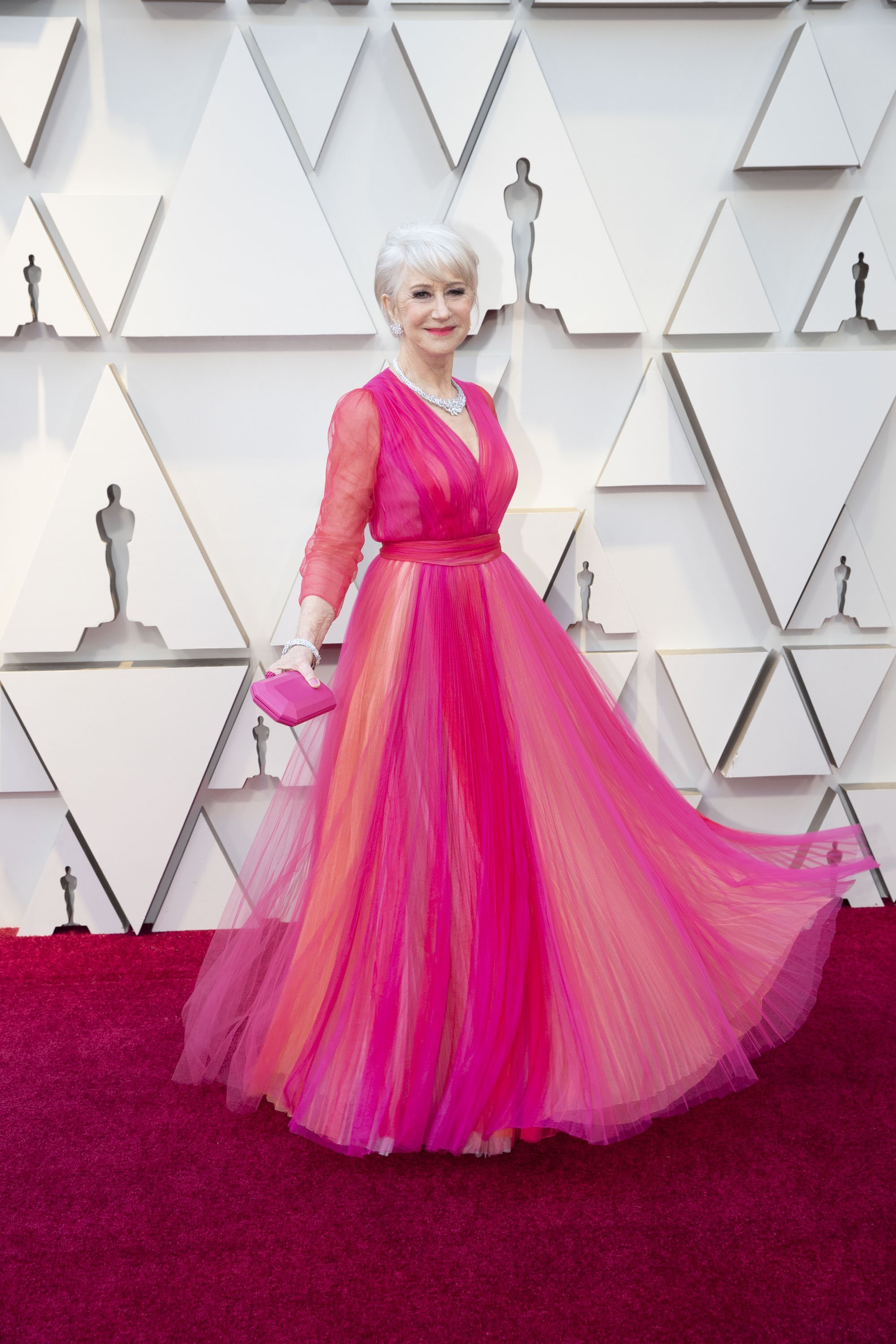 Helen Mirren: Red Carpet from the The 91st Oscar broadcast on Sunday, Feb. 24, 2019, at the Dolby Theatre.