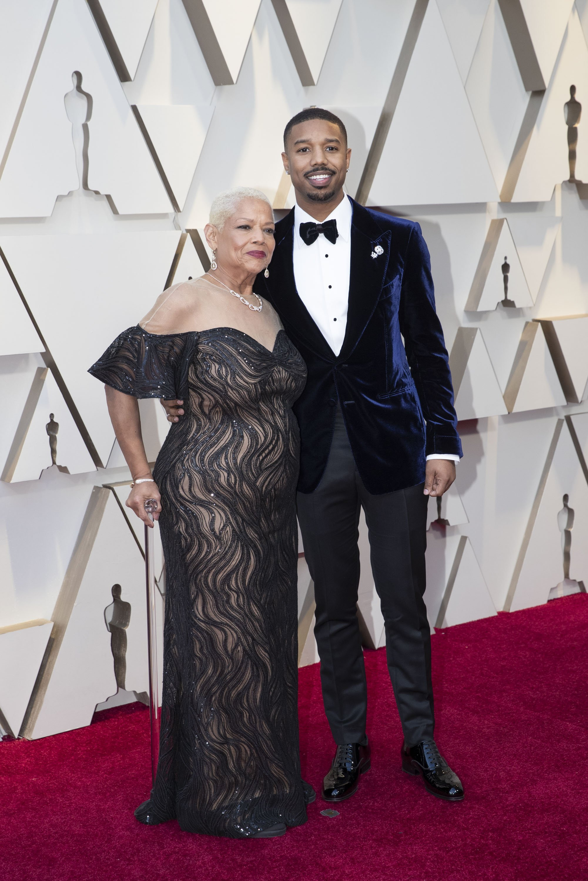 Michael B. Jordan and Guest: Red Carpet from the The 91st Oscar broadcast on Sunday, Feb. 24, 2019, at the Dolby Theatre.