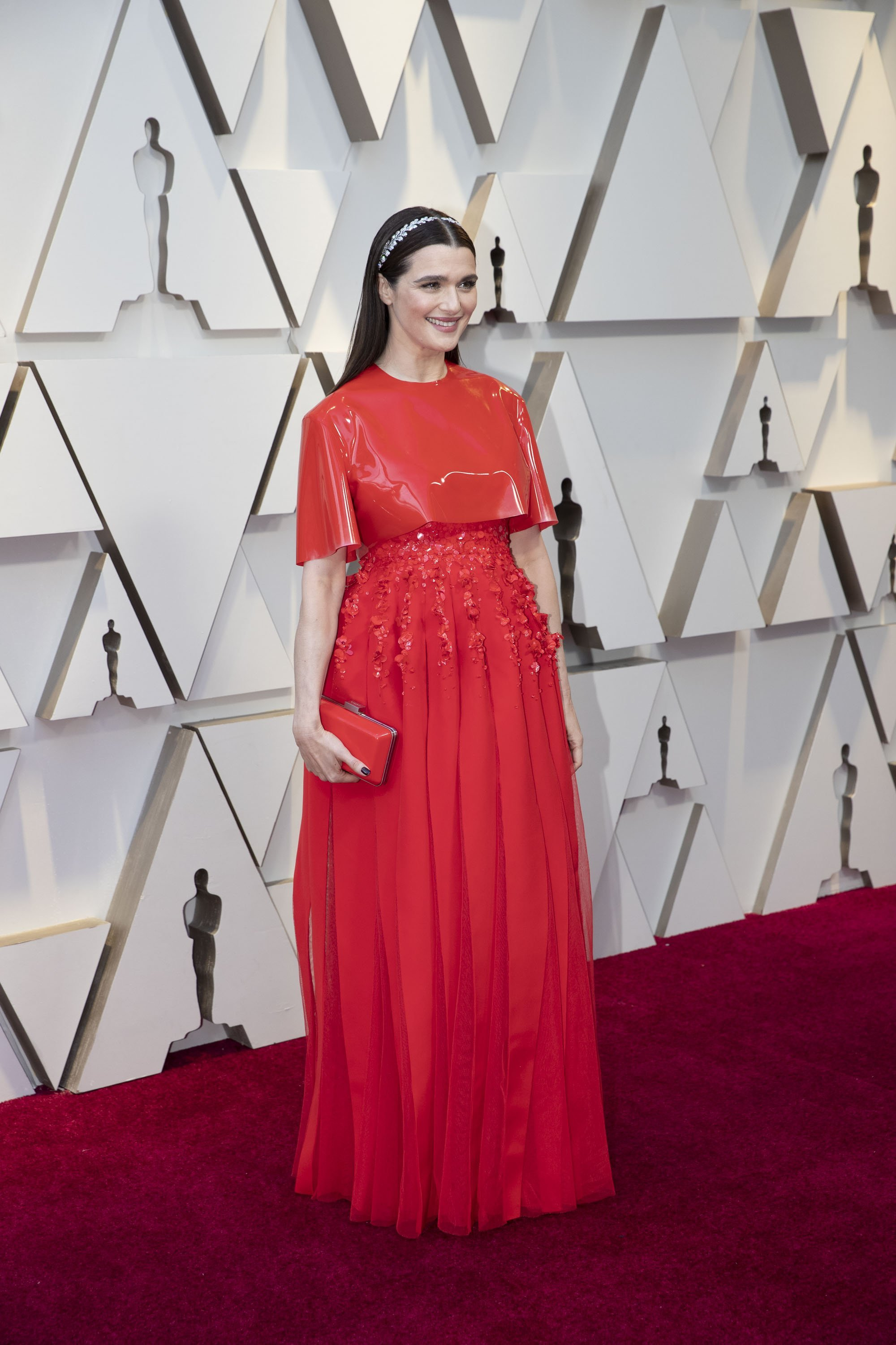Rachel Weisz: Red Carpet from the The 91st Oscar broadcast on Sunday, Feb. 24, 2019, at the Dolby Theatre.