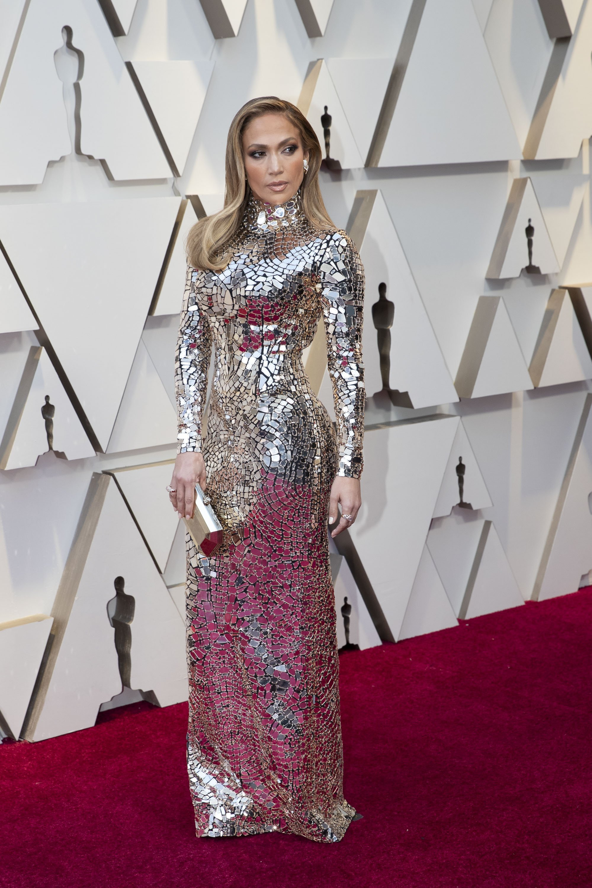 Jennifer Lopez: Red Carpet from the The 91st Oscar broadcast on Sunday, Feb. 24, 2019, at the Dolby Theatre.