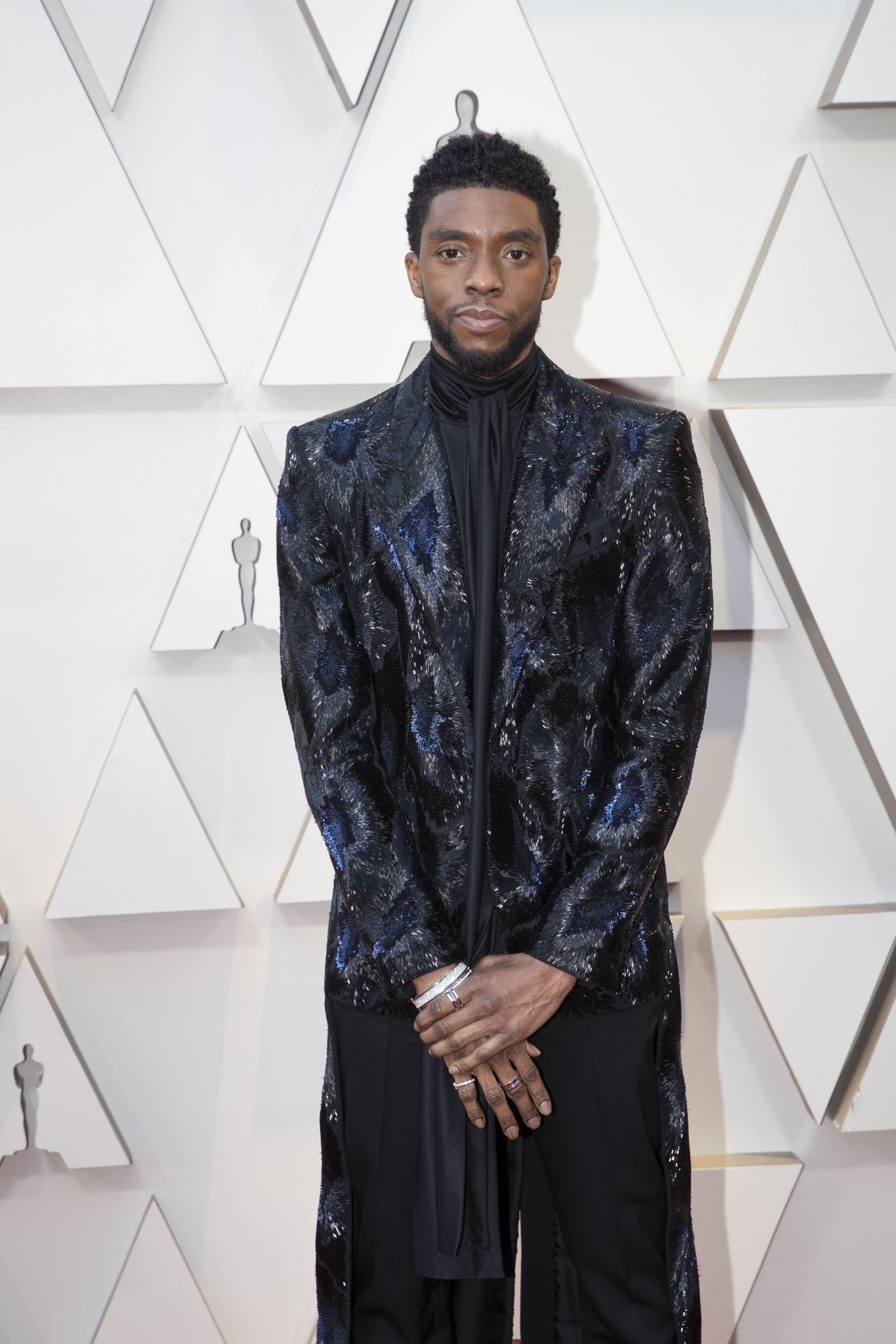 Chadwick Boseman: Red Carpet from the The 91st Oscar broadcast on Sunday, Feb. 24, 2019, at the Dolby Theatre.