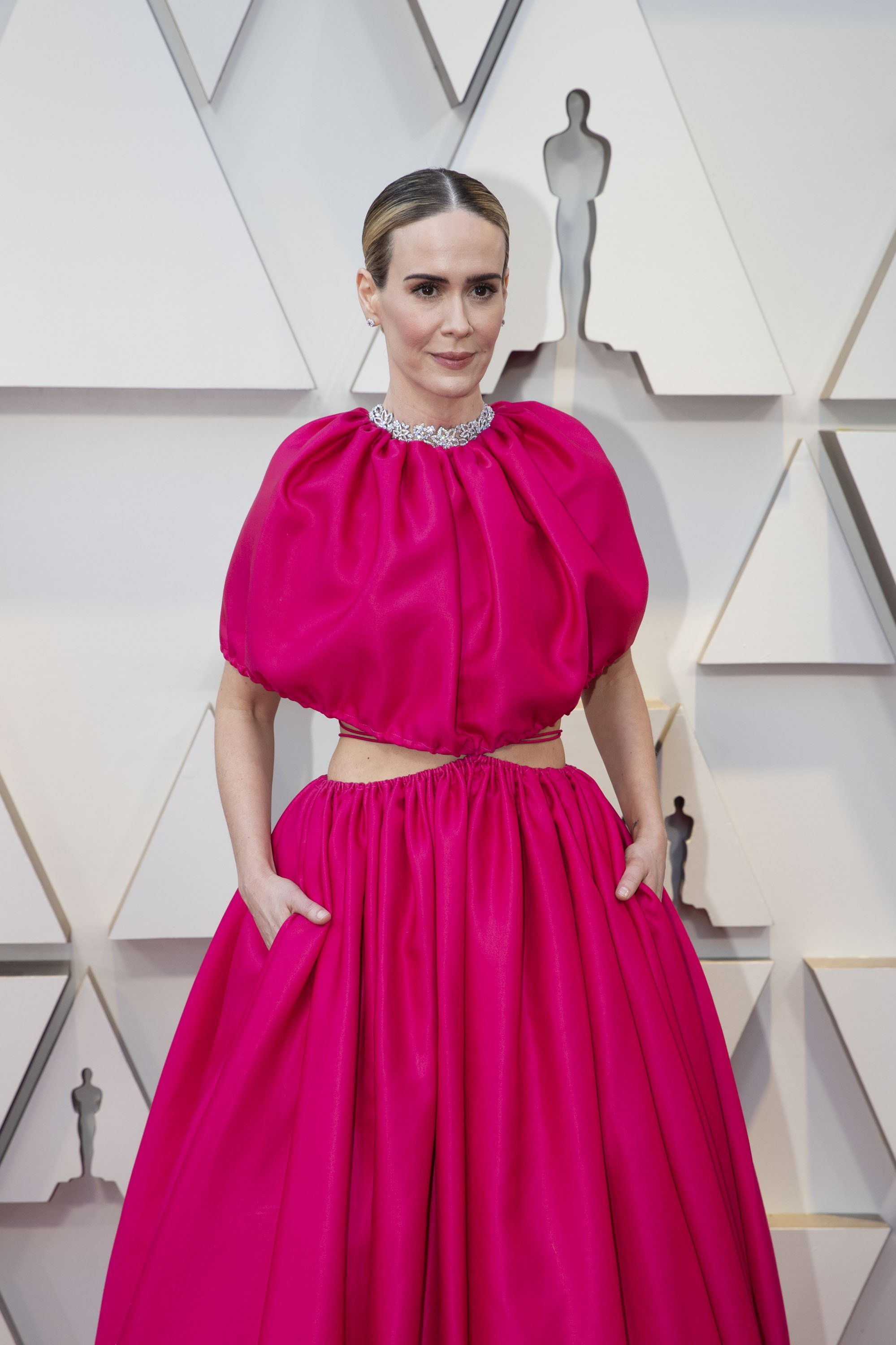 Sarah Paulson: Red Carpet from the The 91st Oscar broadcast on Sunday, Feb. 24, 2019, at the Dolby Theatre.