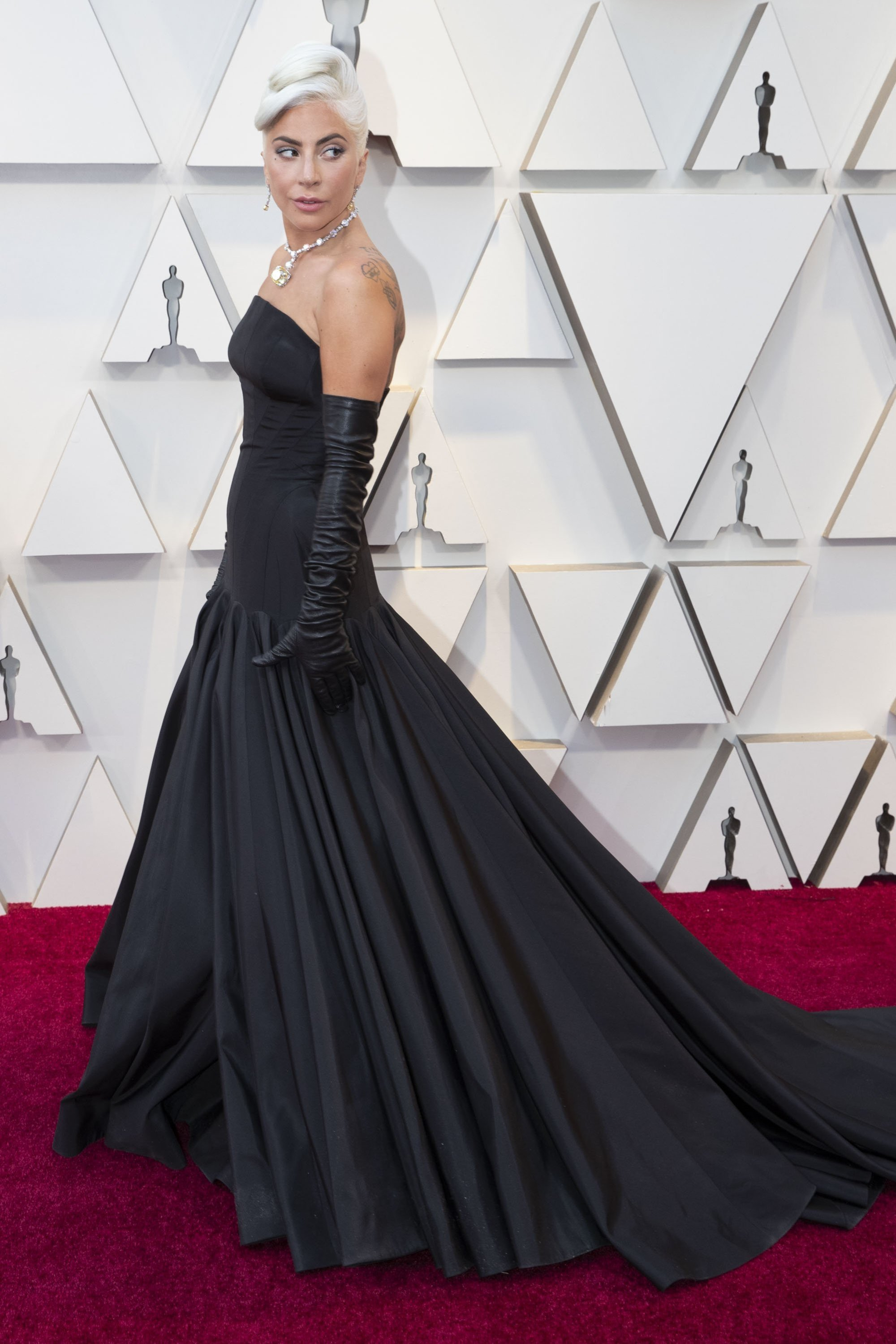 Lady Gaga: Red Carpet from the The 91st Oscar broadcast on Sunday, Feb. 24, 2019, at the Dolby Theatre.