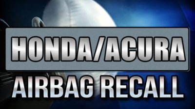 Acura Airbag Recall >> Honda Acura Recall 1 1 Million Vehicles For Defective Replacement