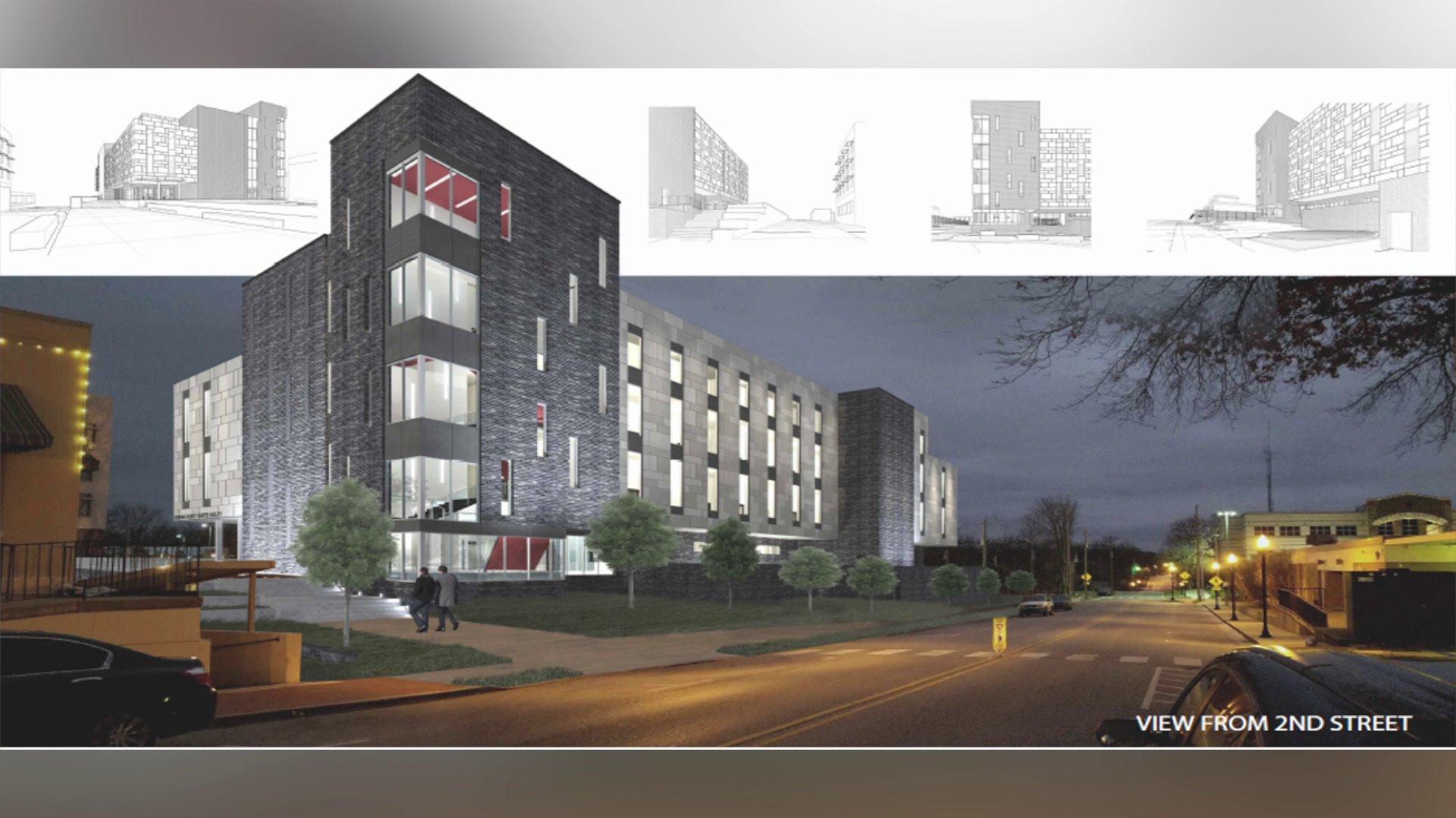Benton County Courts Building renderings